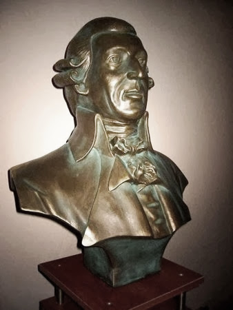Franz Haydn, busta.