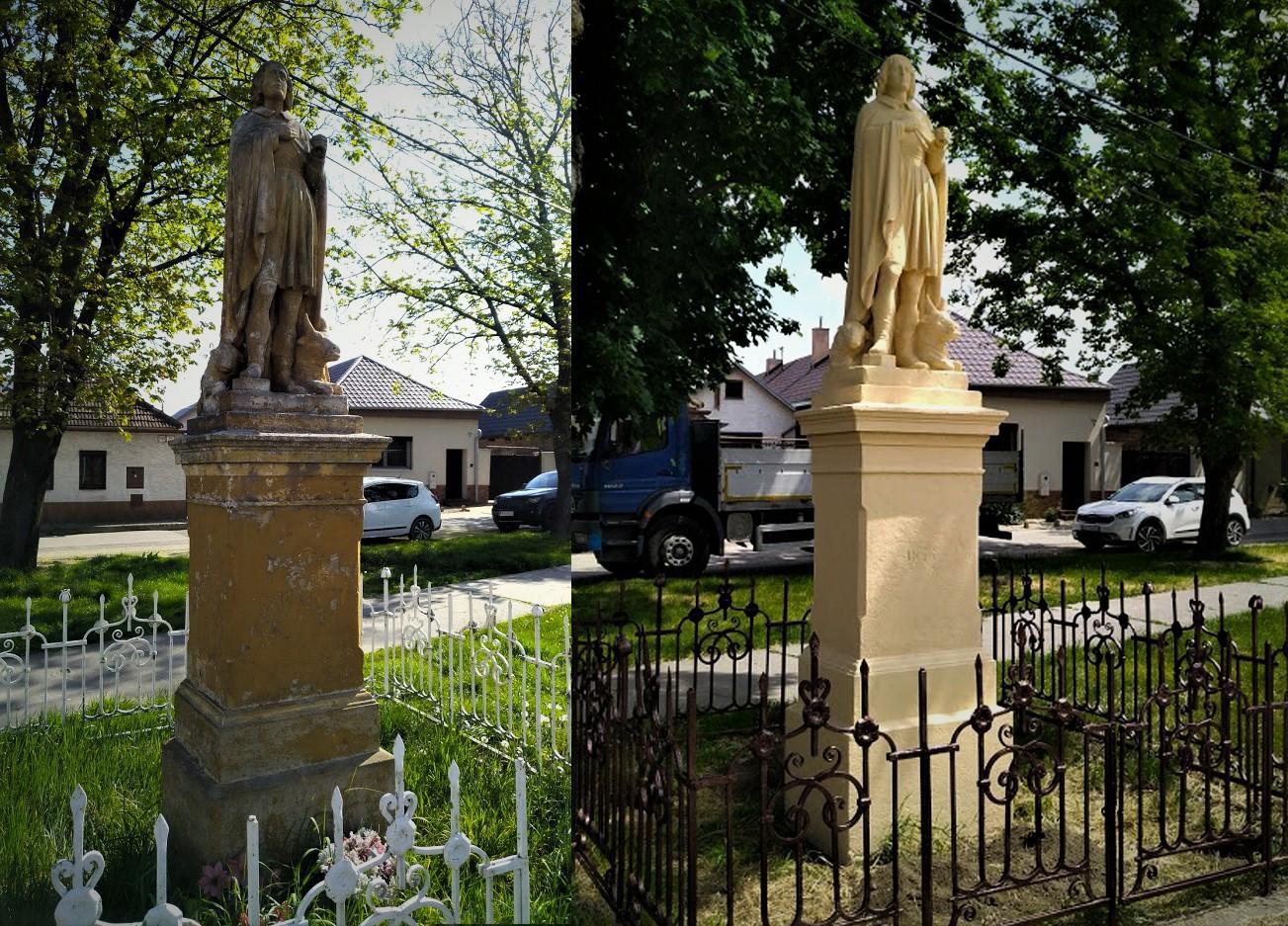 Sereď, Sv. Vendelín rekonštrukcia