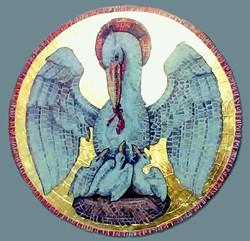 Mozaika, oltár Andovce