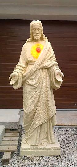 Rekonštrukcia sochy Krista