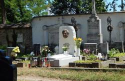 Anton Srholec, hrob, Skalica