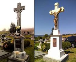 Centrálny kríž, rekonštrukcia