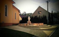 Socha Panny Márie, Dolná Poruba. SR