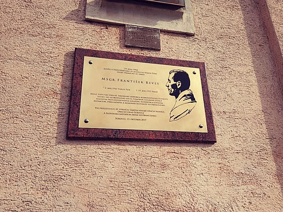 František Reves, Šúrovce