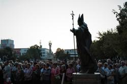 Nové Zámky, Hlavné námestie socha Jam Pa