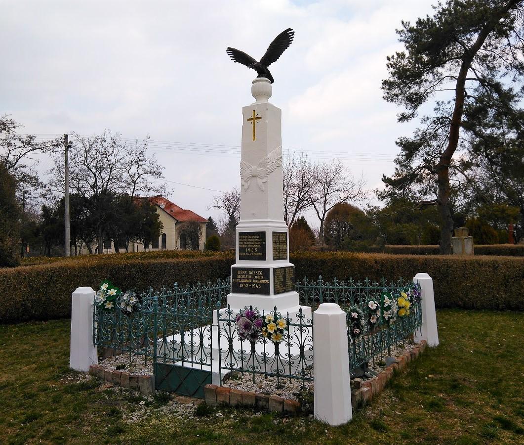 Pamätník vojen, Bíňa