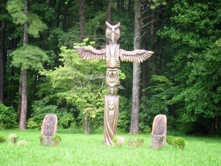 Pocahontas, Williamsburg VA, USA.