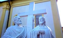 Sv. Filip a Jakub, detail.