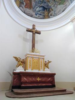 Hlavný oltár Považany, rekonštrukcia