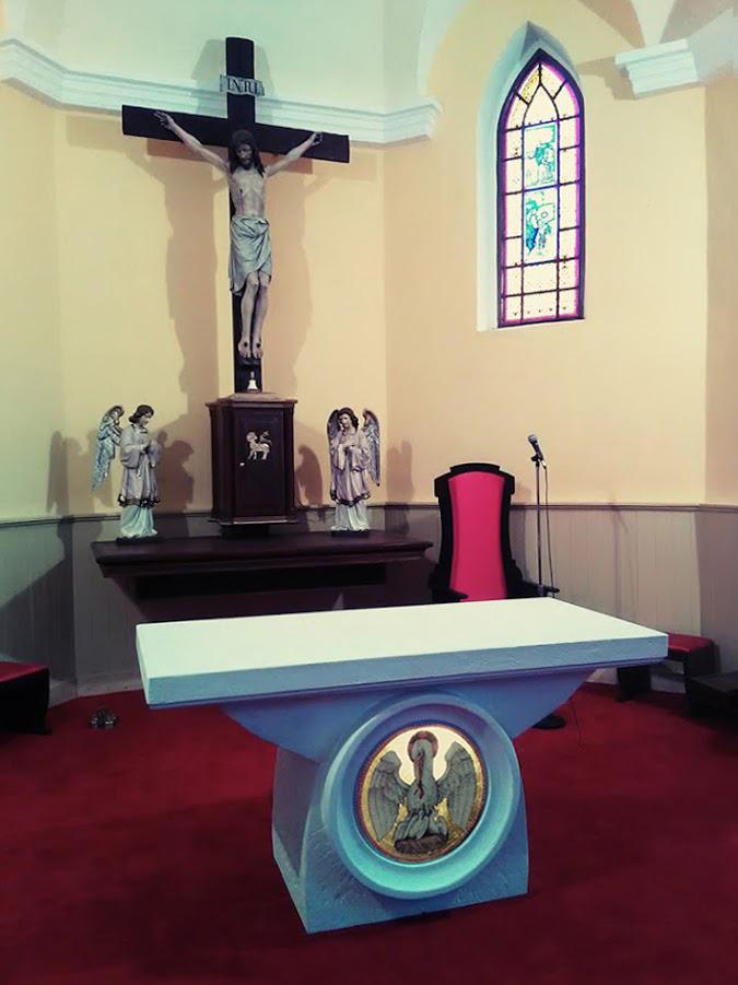 Andovce, nový oltár