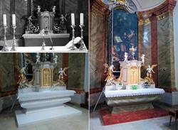 Nová spodná časť oltára