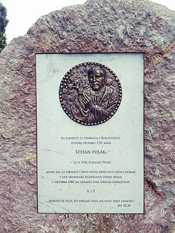 Bronzový reliéf, Štefan Polák