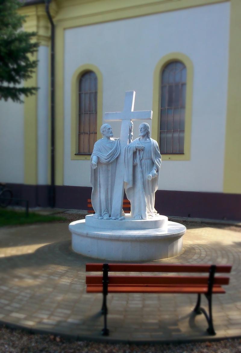 Sv. Filip a Jakub, mramor.