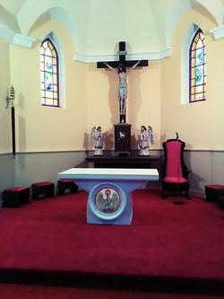 Andovce, nový oltár 2016