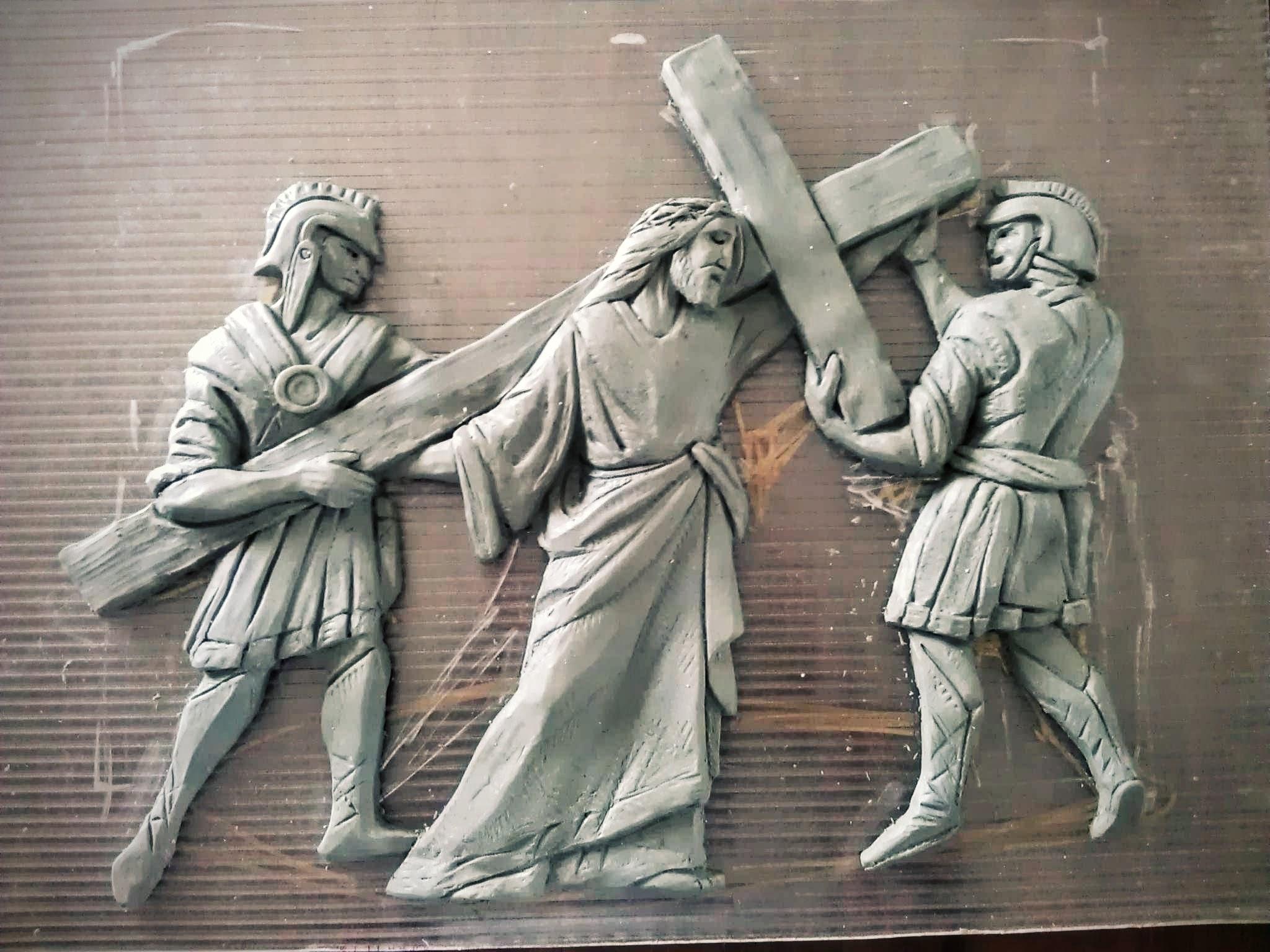 Reliéf krížovej cesty