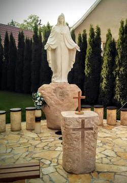 Panna Mária, Dolná Poruba, 2015.