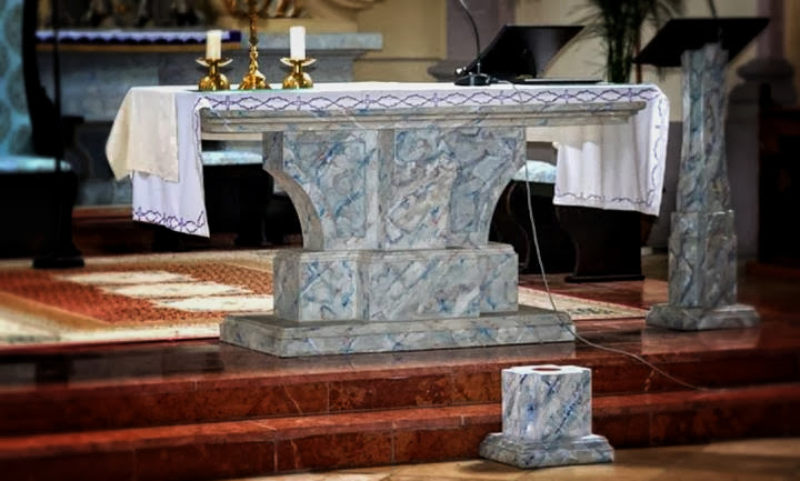 Oltár, Svodín- Mgr.art. Peter Mészároš