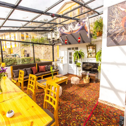 A lovely place for meals and gathering in our Cusco house