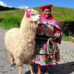 Traditional Peruvian Woman