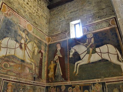 Gli affreschi romanici in San Giorgio ad Almenno San Salvatore