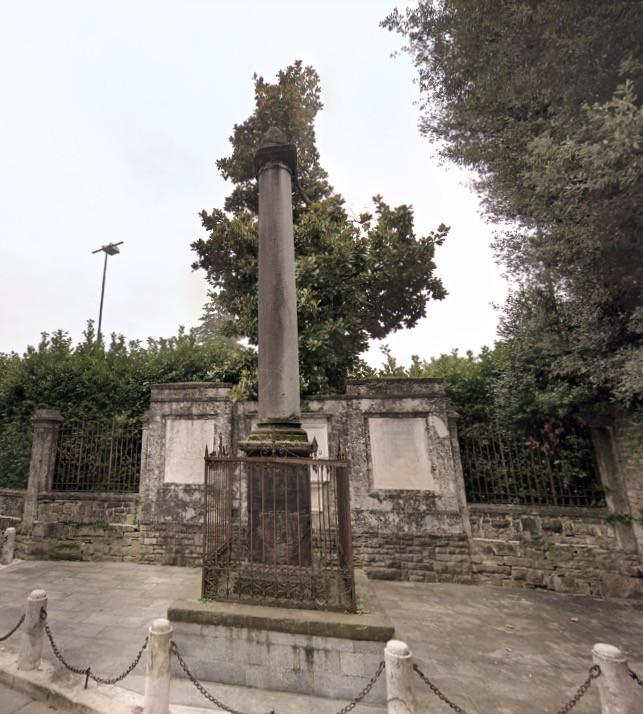 colonna sant'alessandro bergamo città alta cattedrale sant'alessandro