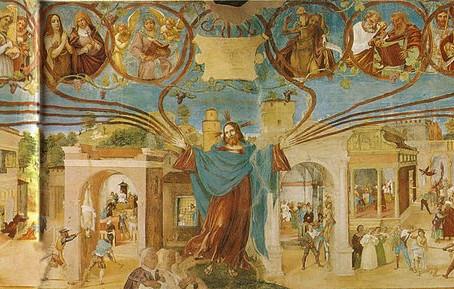 15/50 Gli affreschi del Lotto a Trescore Balneario