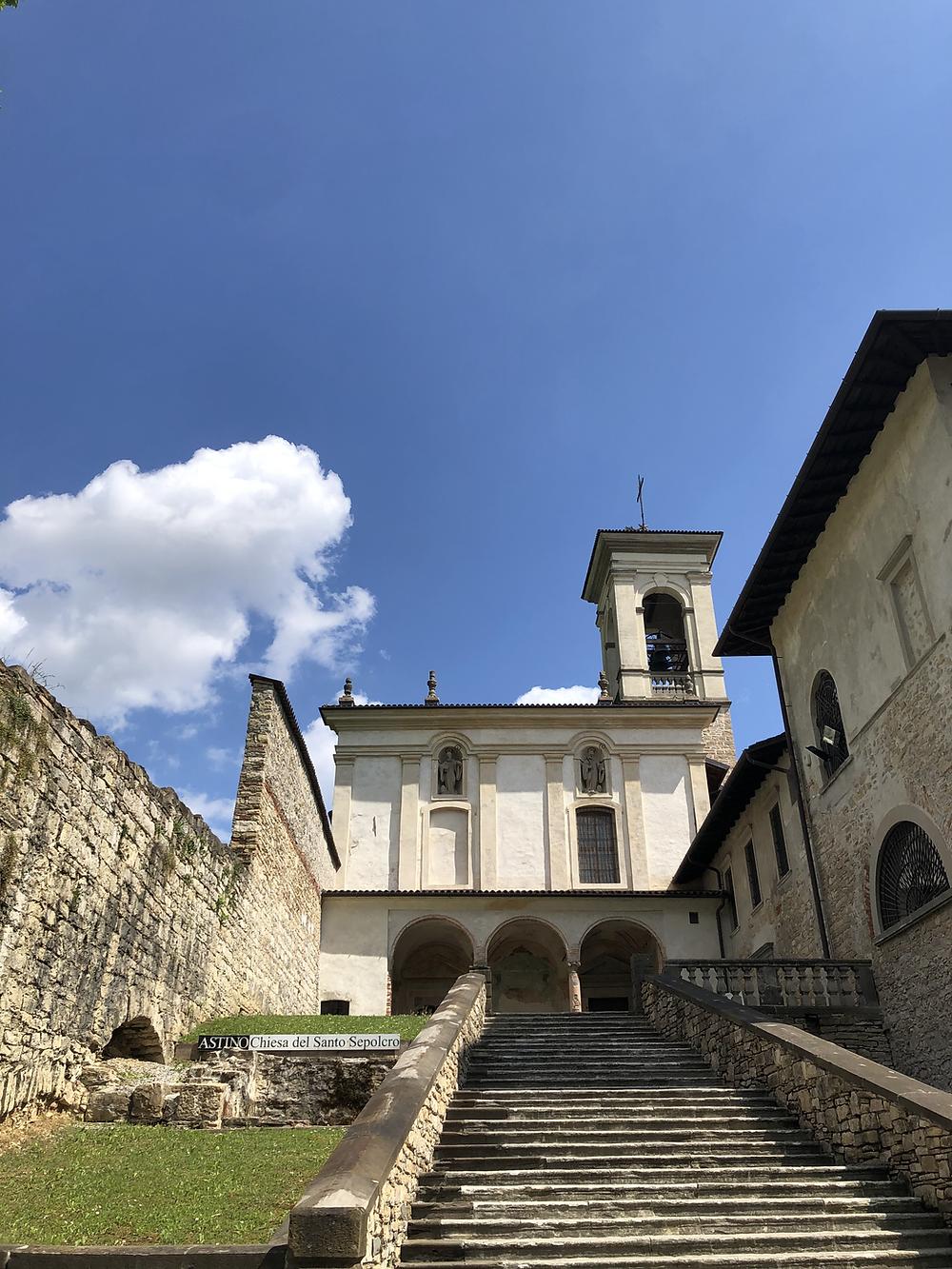 Chiesa Santo Sepolcro bergamo Astino
