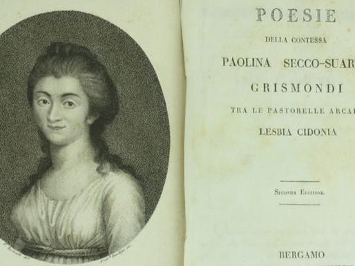 Paolina Secco Suardo, la poetessa bergamasca che amava i salotti culturali parigini