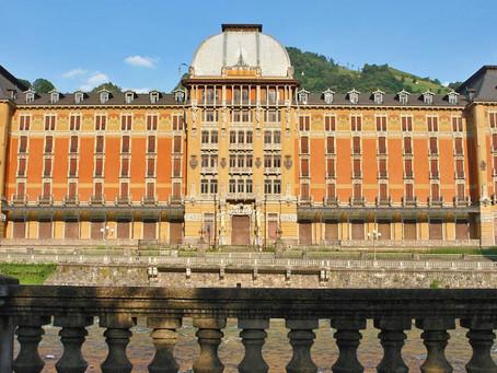 Il grand hotel di San Pellegrino Terme
