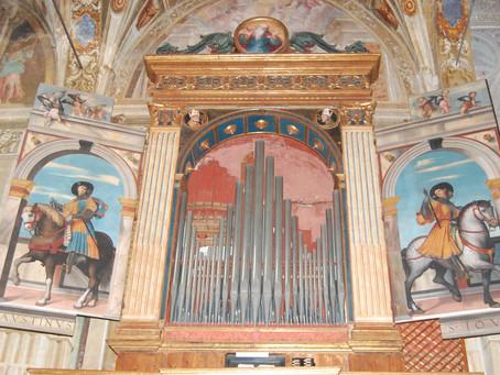 10/50 Le ante dell'organo del Moretto a Lovere