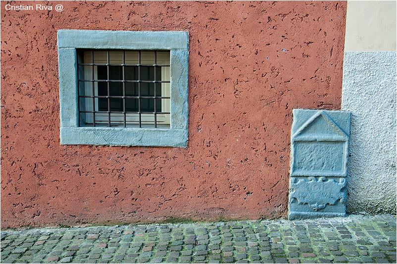 colonna pietra non latius bergamo mura Venezia
