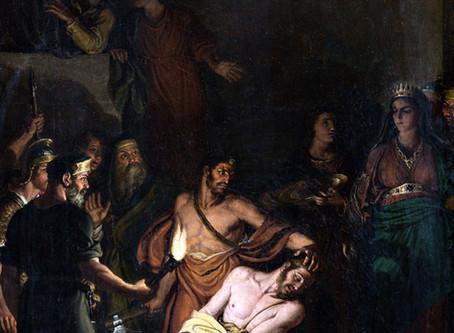 26/50 La decollazione del Battista del Diotti a Stezzano