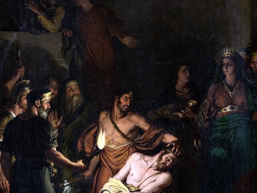 La decollazione del Battista del Diotti a Stezzano