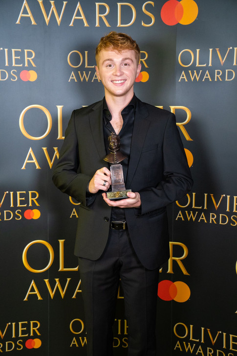Sam Tutty Olivier Awards