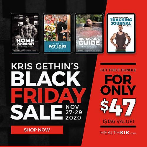 Kris Gethin's Black Friday Bundle