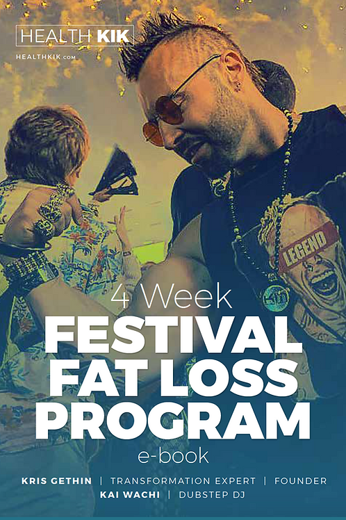 4 Week Festival Fat Loss Program - Kris Gethin Edition