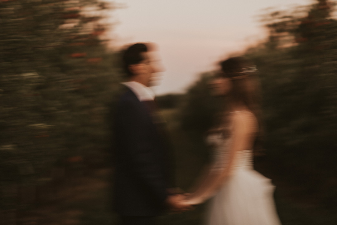 Blurry editorial photography
