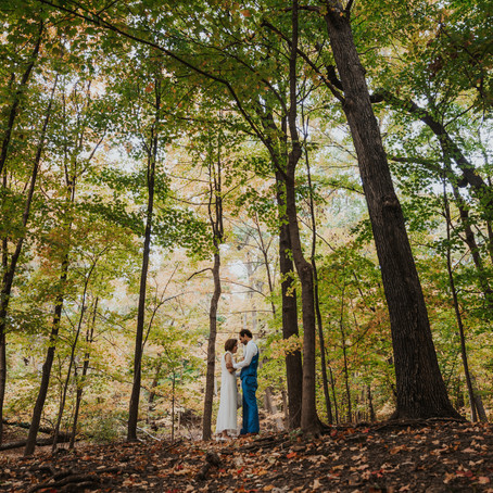 Self-Uniting Forest Elopement Ceremony