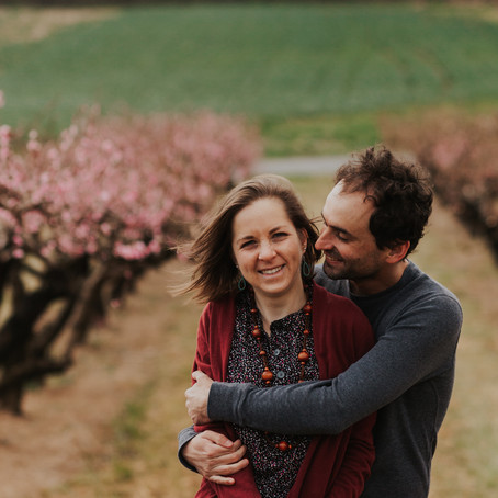 Spring portrait locations: Orchards