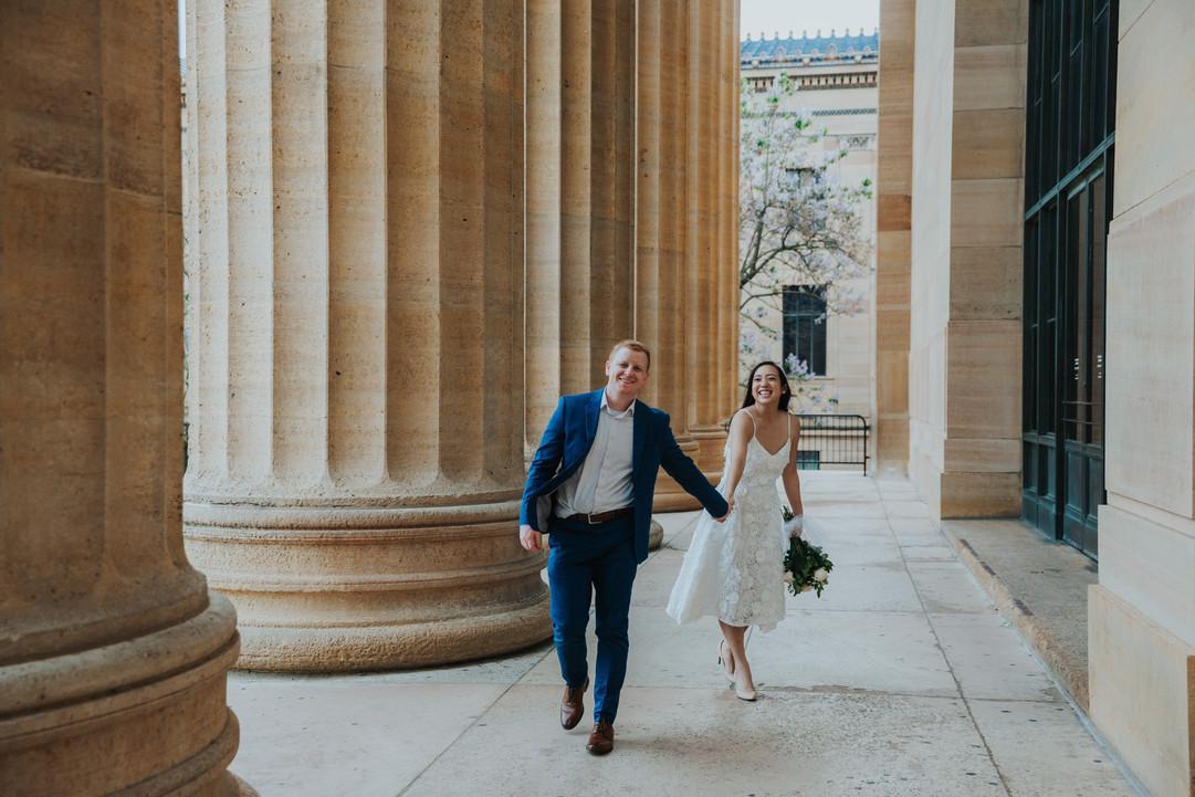 Philadelphia Art Museum Wedding