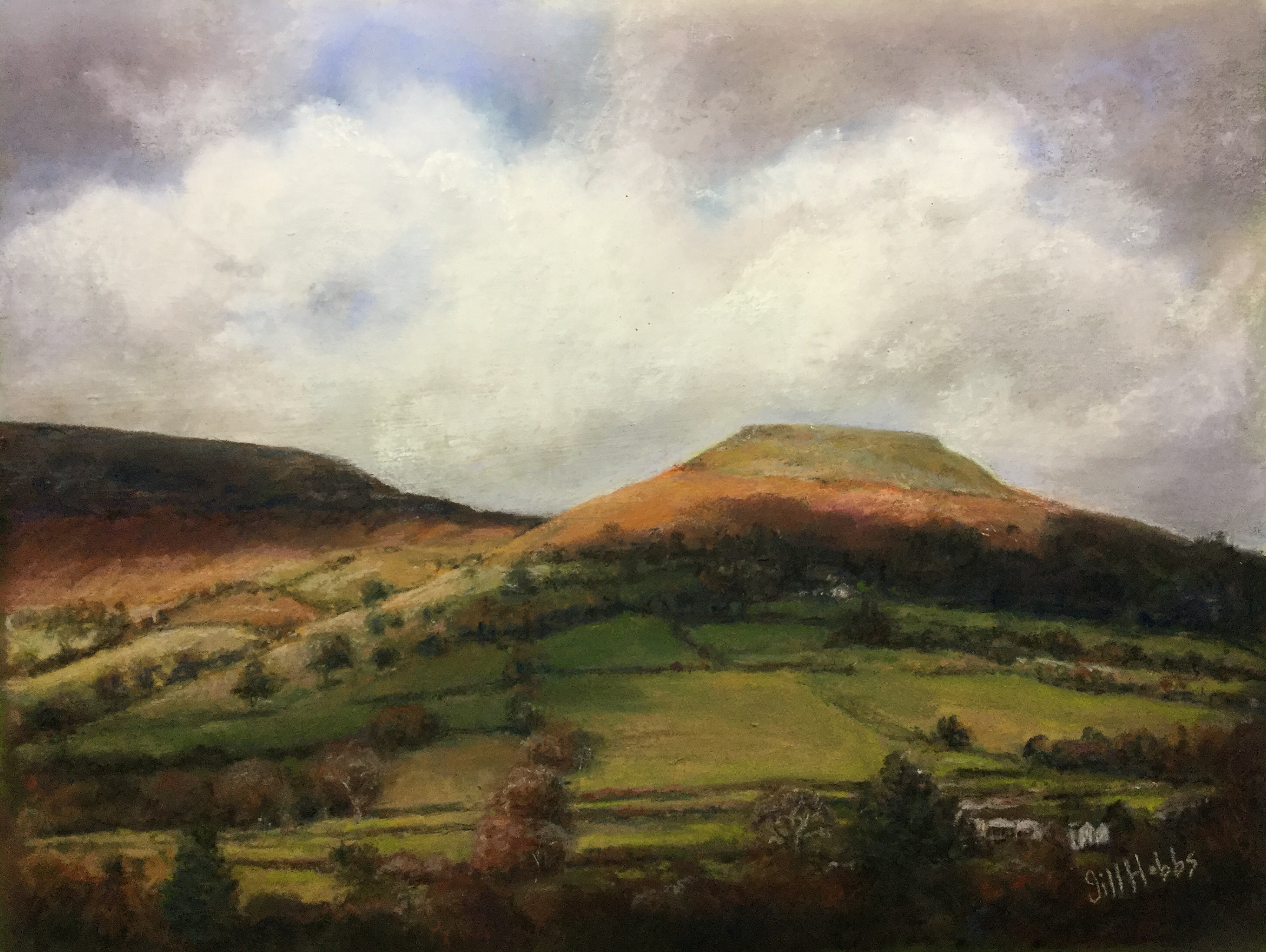 Crug Howel, Table mountain, Crickhowell