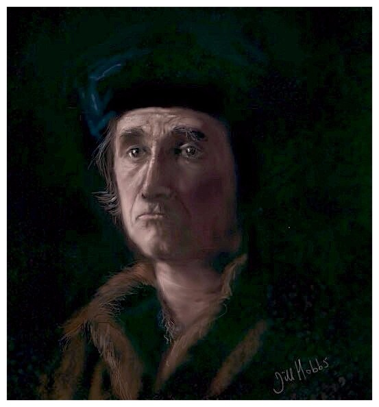 Actor Mark Rylance. Wolf Hall