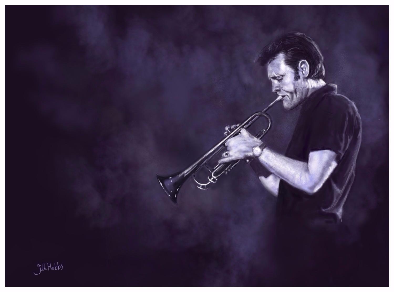 Chet Baker. Jazz musician.
