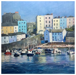 Tenby Harbour. Sold