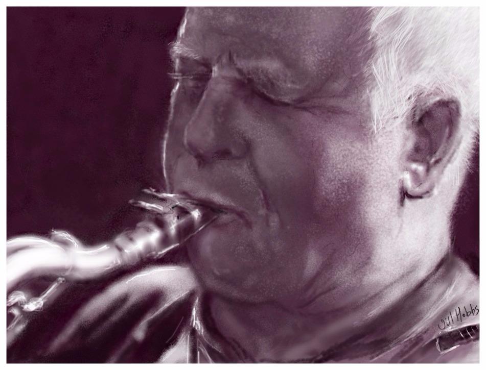 Andrew Fawcett.Saxophonist.