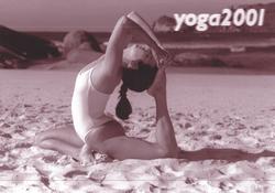 Capa Calendário de Yoga 2001