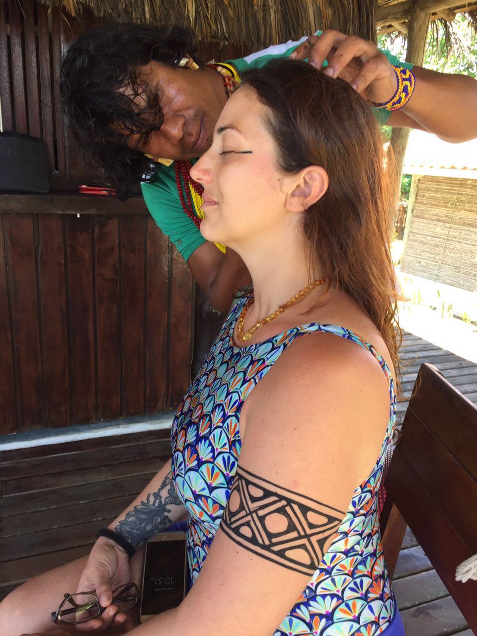 Curso Yoga Bahia 2016 - Dia de Índio