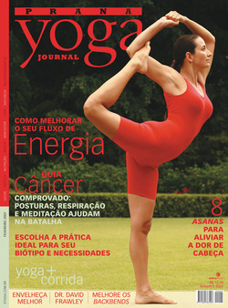 Capa Yoga Journal - Fevereiro 2007