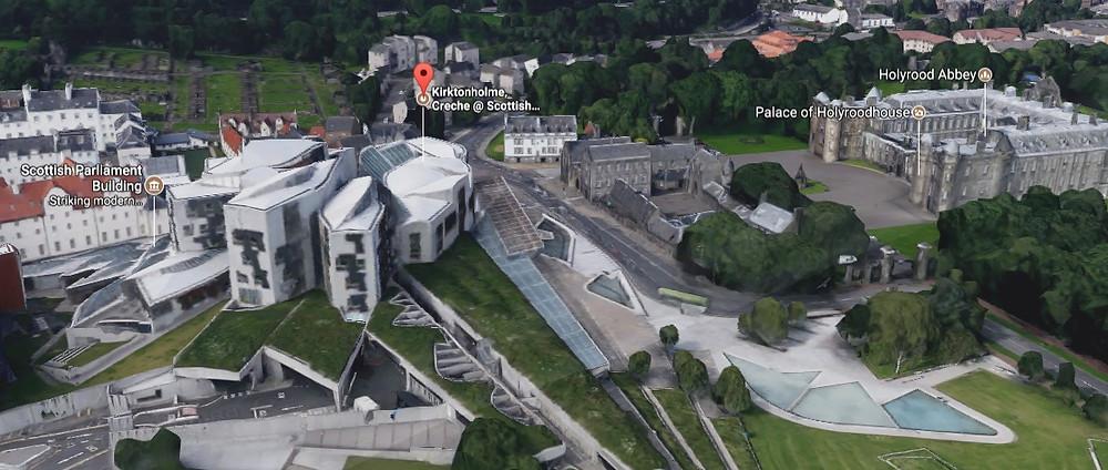 Juxtapose3 - Parliament_Holyroodhouse