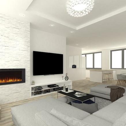 Interiér 4-izbového bytu